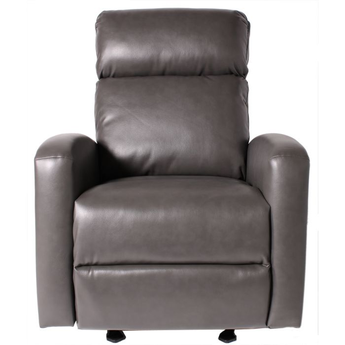 Marshall Power Rocker Recliner In Blanche Lividity Leather Like Fabric